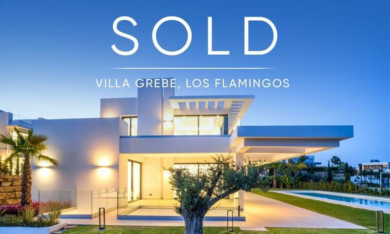 Great news! Villa Grebe in Los Flamingos, Benahavis is SOLD!