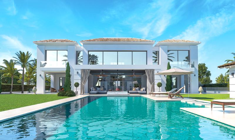 New Villa! Close to the Beach, Tennis club and Golf Course!