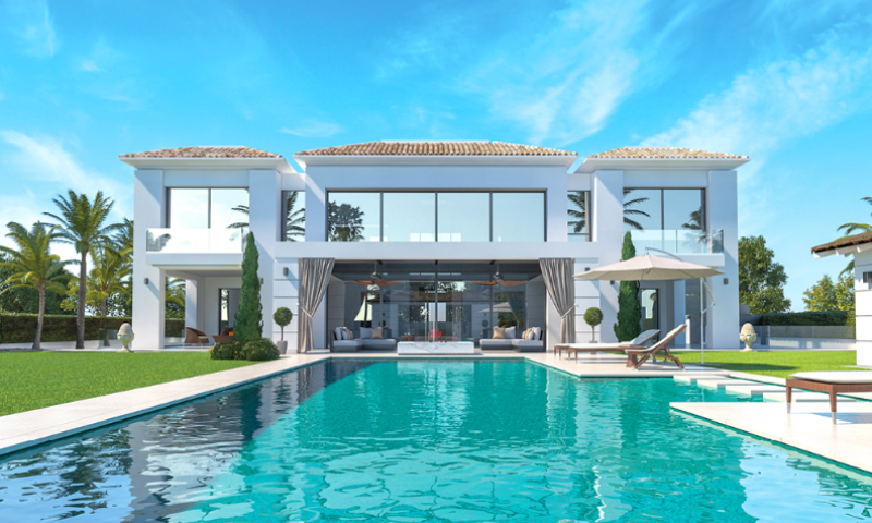 New Villa! Close to the Beach, Tennis club and Golf Course!