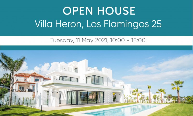 Open House of Our Newly Built Villa Heron, Los Flamingos 25